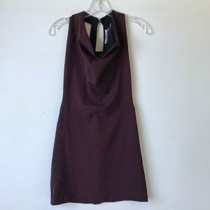 Urban Outfitters Cowl Mini Open Back Dress #78